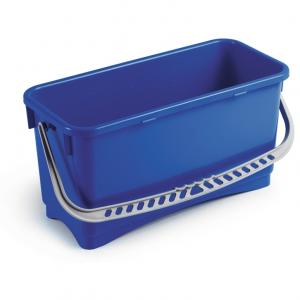Seau + anse plastique 20L bleu