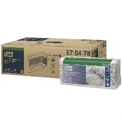 CHIFFON TORK PREMIUM 570 65FTS BLANC 1P – 42,8X35,5CM 5 paquet de 65fts