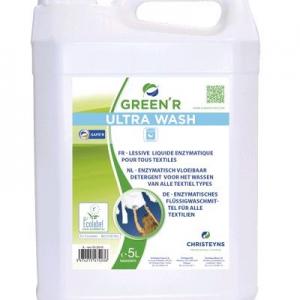 green'r lessive liquide ecolabel ultra wash 5l