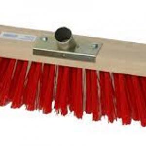 Balai professionnel 80cm PVC rouge