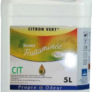 Propre odeur nettoyant surodorant citronnelle 5L | AMD