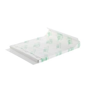 Feuilles papier parazelle liassé BioEM kraft blanc / 32 x 50 cm