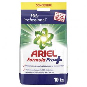 LESSIVE ARIEL FORMULA PRO 10KG | lessive désinfectante
