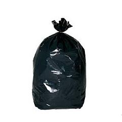 SACS POUBELLES 110L noir   200 sacs 45 microns