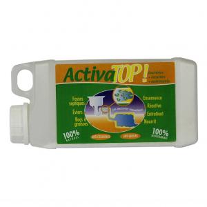 Activa top 750 g destructeur d'odeurs bac a graisse / syphons  / canalistions