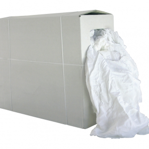 Chiffon drap blanc coton | colis de 10kg